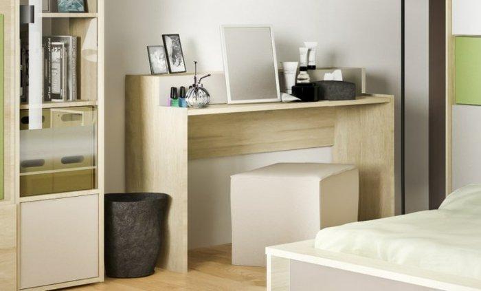 Решение для простого, но удобного туалетного столика