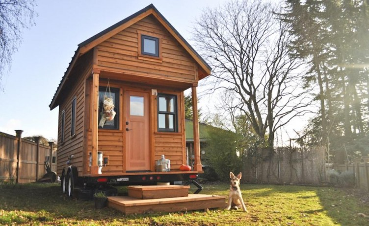 Идея загородного мини-дома