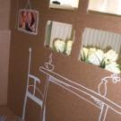 Картонный домик для ребенка своими руками фото 807