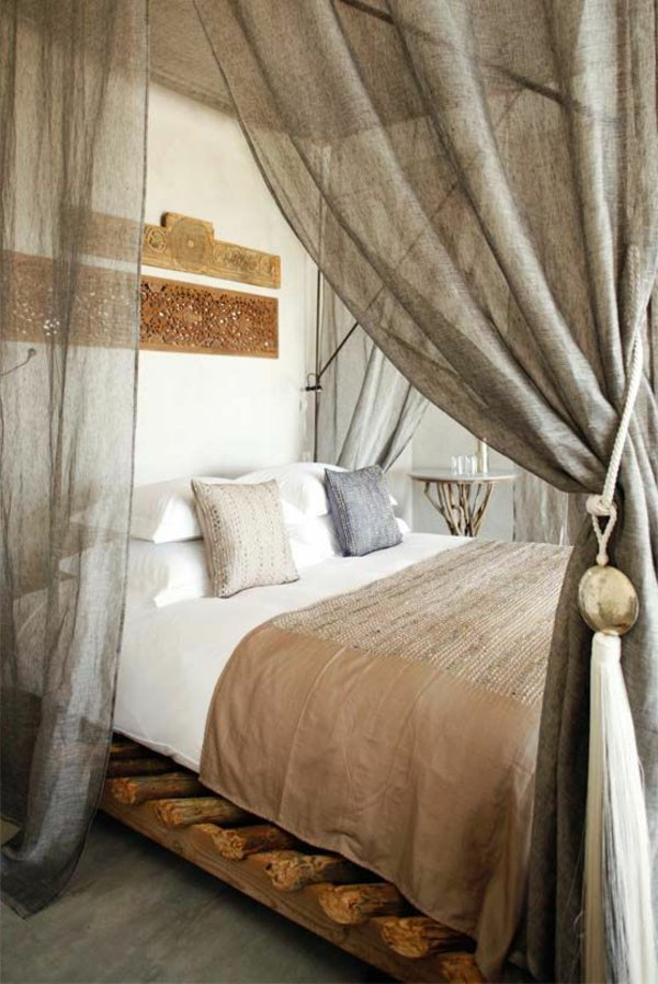Кровать c балдахином на взрослую и детскую кровать