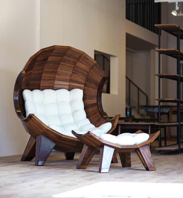 Необычное кресло, из которого не захочется вылезать