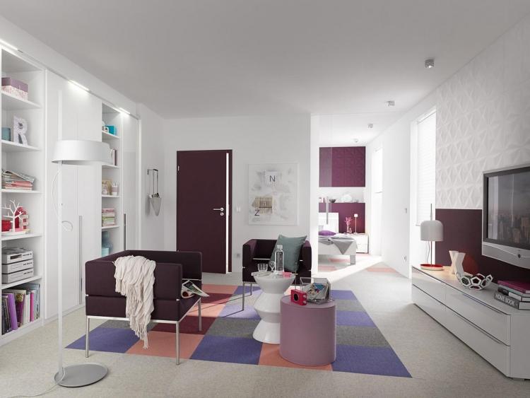 Стеновые 3D-панели для внутренней отделки гостиной фото