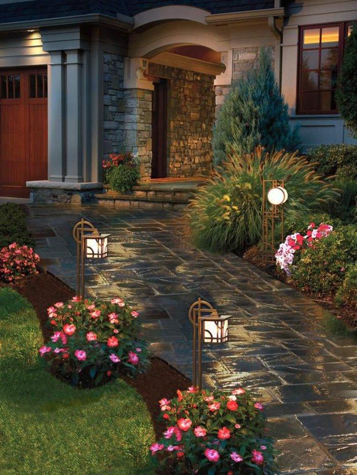 Фото светильники уличные садовые