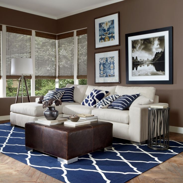 blaue-farbtöne-blaue-wohnzimmer