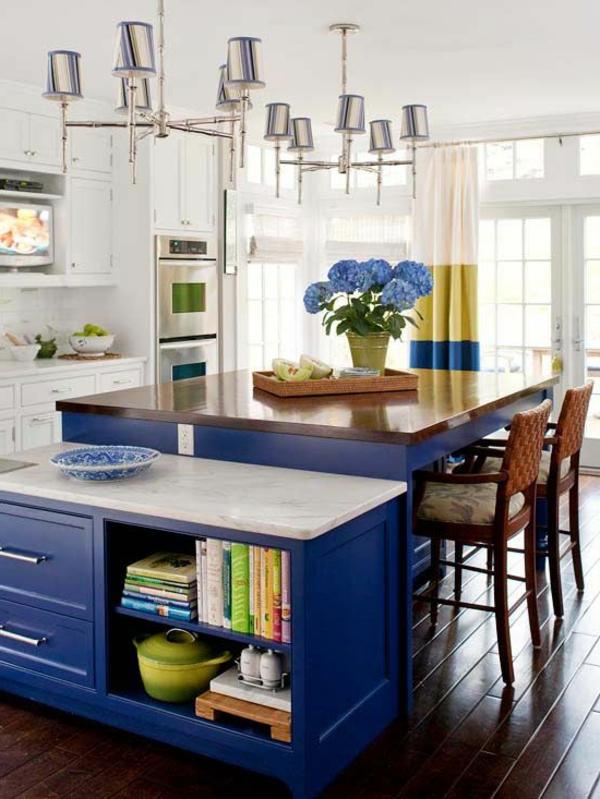 blaue-farbtöne-küche.schrank