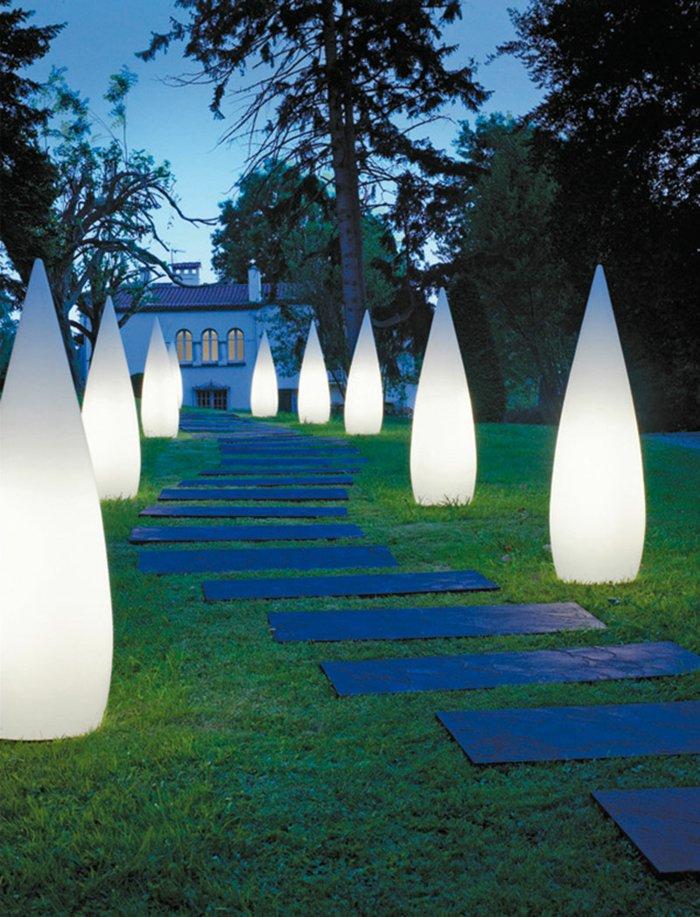 Светодиодное освещение садовых дорожек
