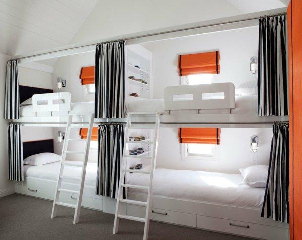 Двухъярусная кровать для взрослых для хостела