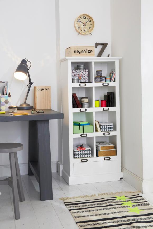 Рабочее место дома фото со шкафом