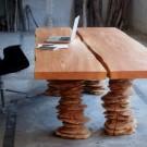 Современная мебель из дерева - стол