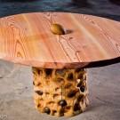 Красивые деревянные столы
