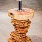 Современная мебель из дерева - журнальный столик