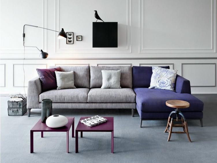 цветные диваны в интерьере фото