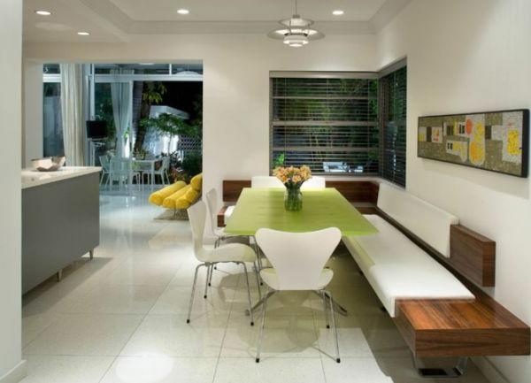 tolles-interior-design-ideen-sitzbank-holz-im-esszimmer1