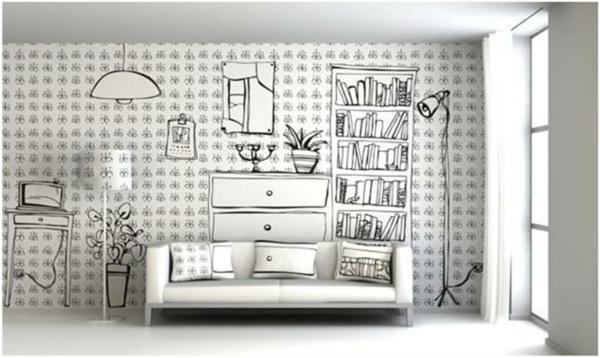 wandmalerei-ideen-Wall-beispiel