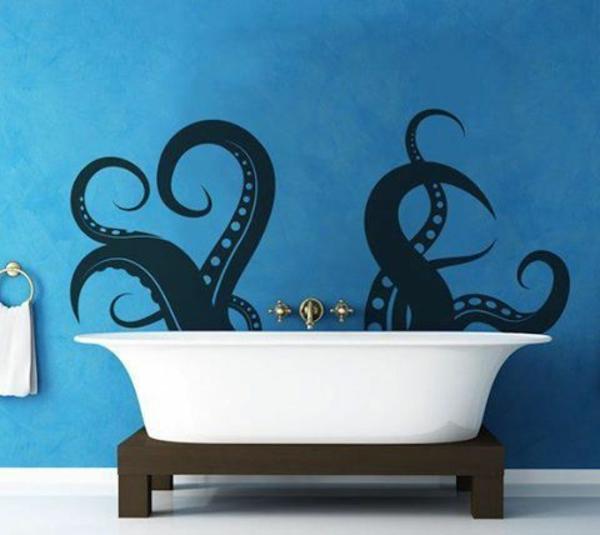 wandmalerei-ideen-badezimmer-wanne