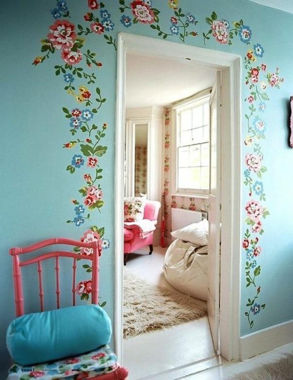wandmalerei-ideen-floral
