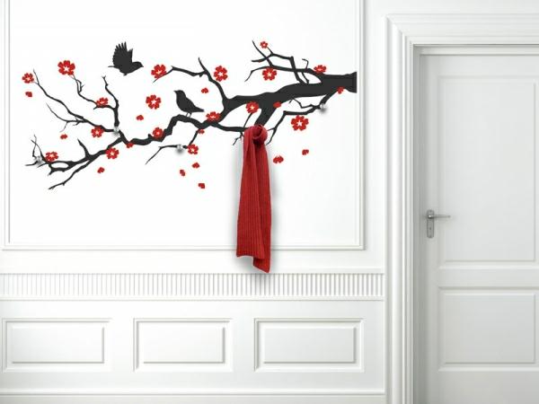 Наклейка на стену сакура