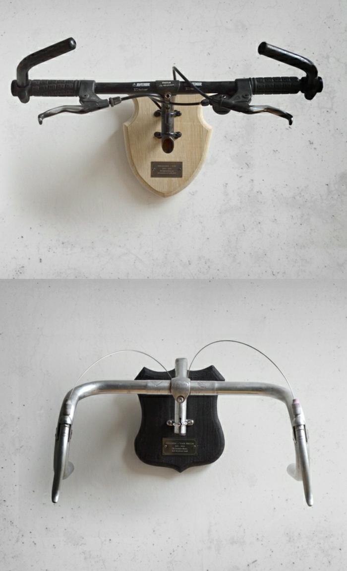 Вешалка для одежды своими руками из руля велосипеда