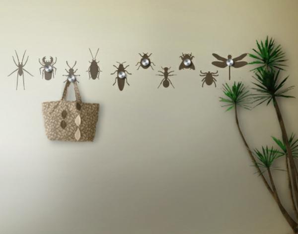 Наклейка на стену жучки