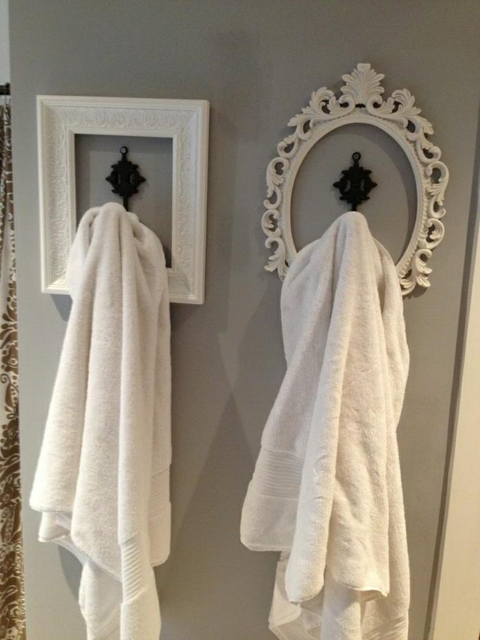 Оригинальные металлические крючки для полотенец в ванную