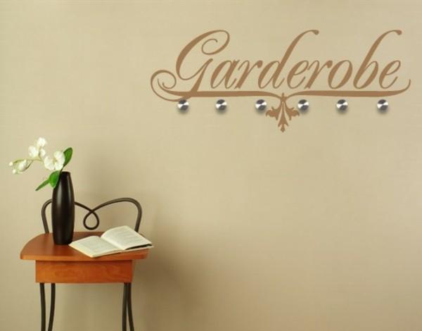 "Наклейка на стену ""Гардероб"""