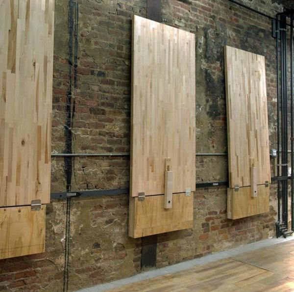 Складные обеденные столы из дерева