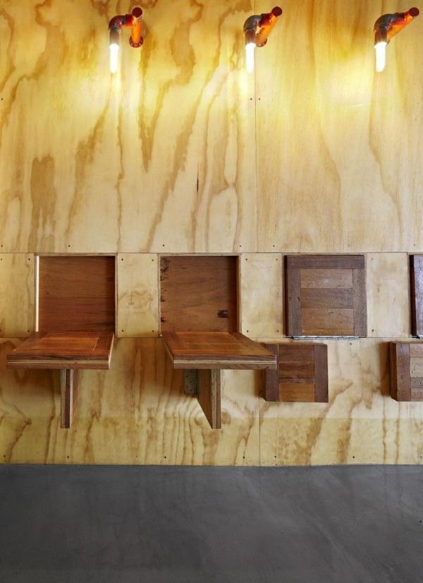 Складные столы и табуреты из дерева