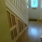 Лестница-шкаф на второй этаж