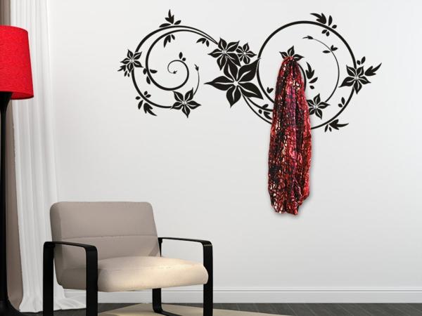 Наклейка на стену изящный орнамент