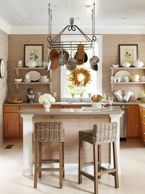 Осенний венок на кухню