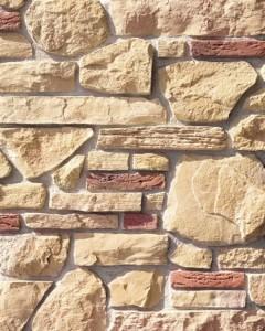 Бежевый искусственный камень