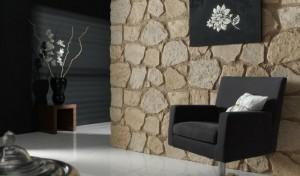 Панели с крупным декоративным камнем