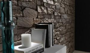 Лофт-атмосфера с искусственным камнем