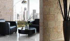 Крупные панели декоративного камня