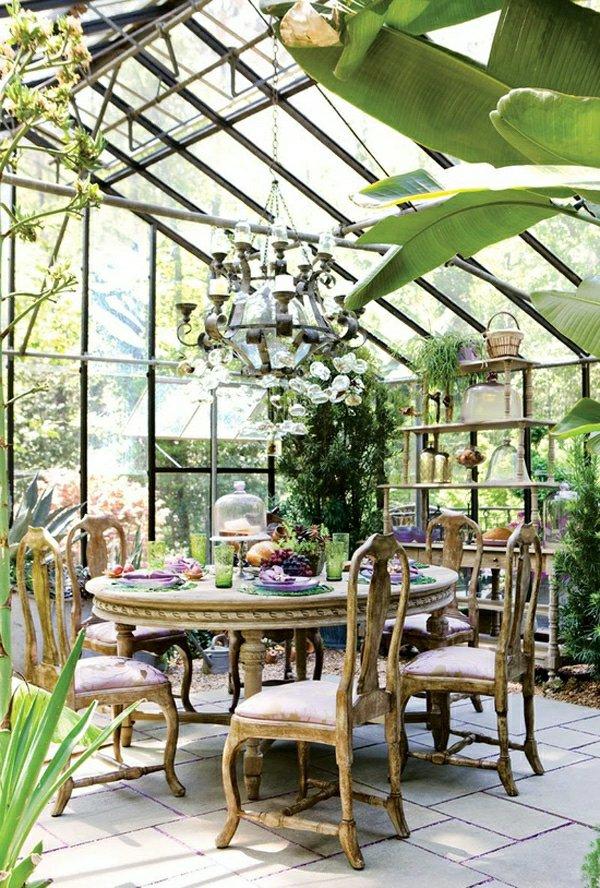 Зимний сад-оранжерея