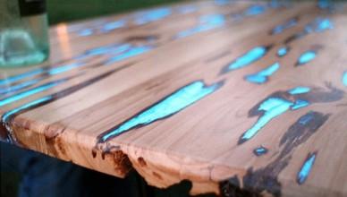 Дизайнерский стол своими руками