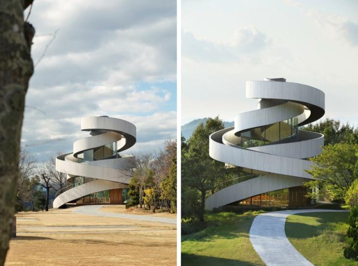 Хироши Накамура необычная архитектура Японии