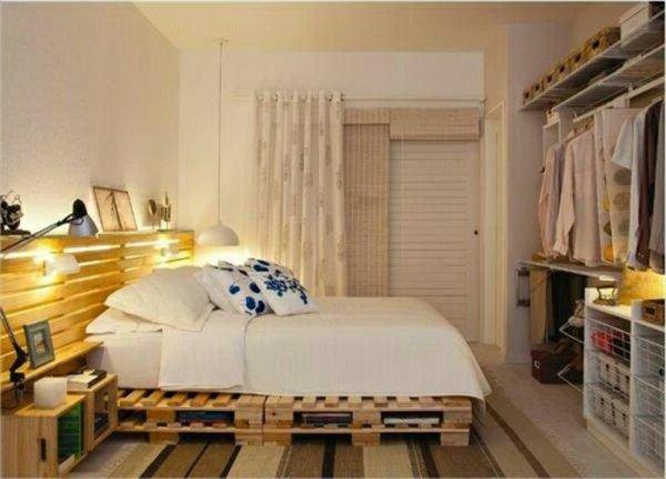 Мебель для спальни из поддонов своими руками