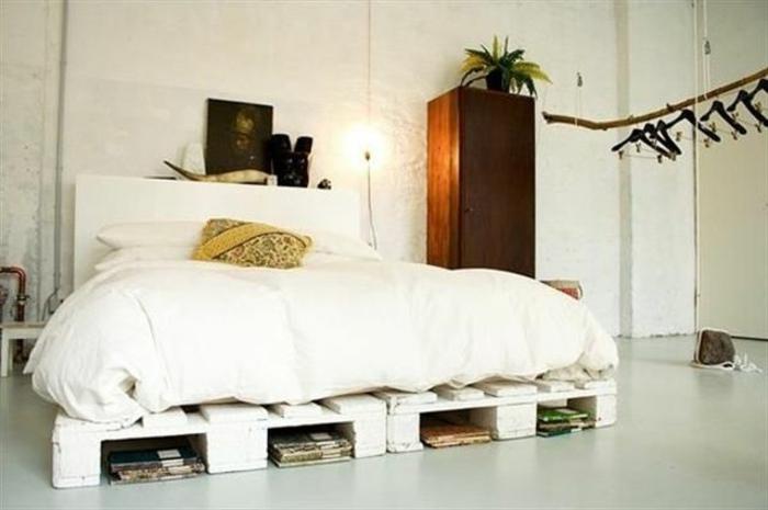 Основание для кровати своими руками из поддонов