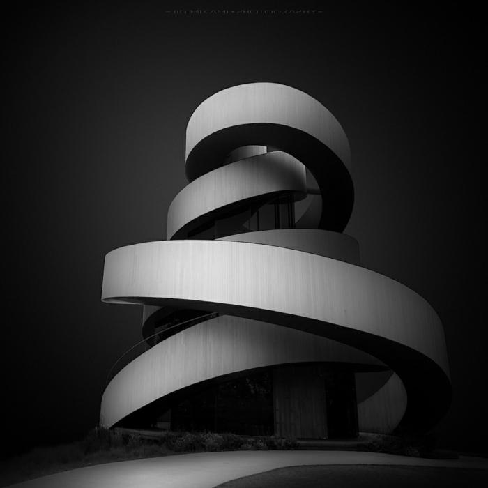 Ribbon Chapel необычные церкви мира 3Д-модель