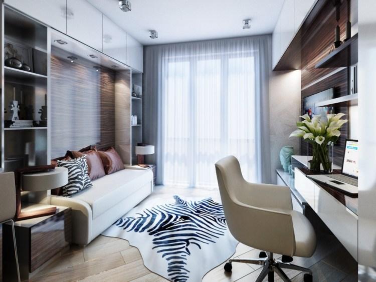 14 интерьер маленькой квартиры 20 кв м в хрущевке рабочее место