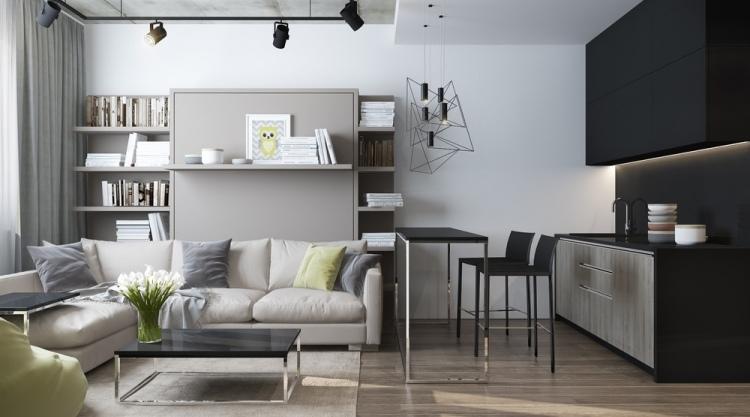 4 красивый ремонт в однокомнатной квартире 30 кв м в хрущевке