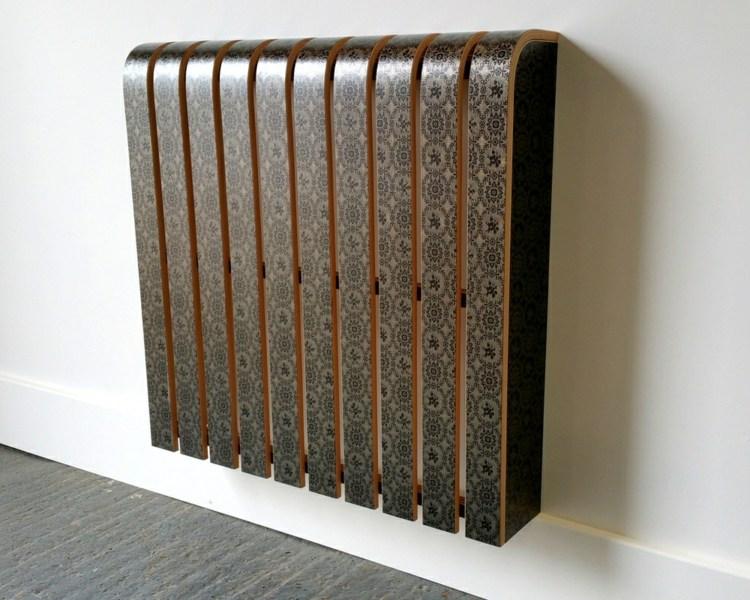 Ламинированный короб из дерева для батареи отопления