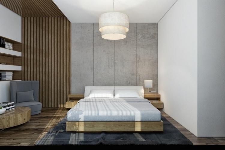 Минимализм в дизайне спальни