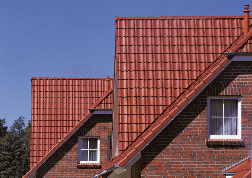 современные кровельные материалы крыша из металлочерепицы фото
