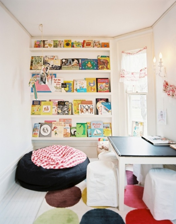 Уютный уголок для чтения в детской