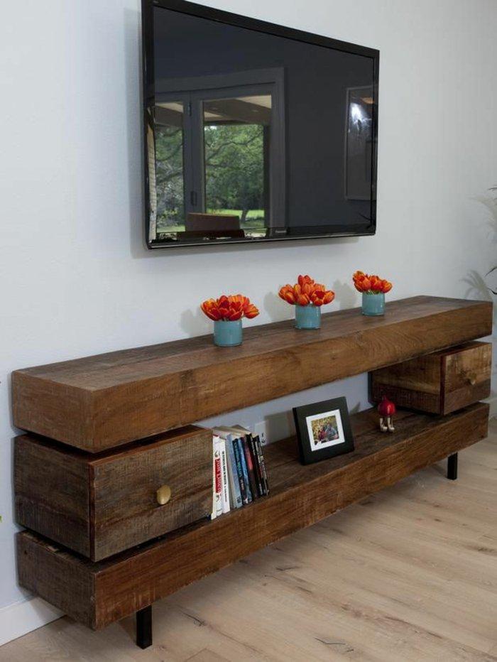 деревянная мебель под старину комод фото
