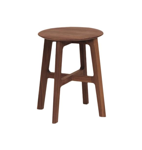дизайнерская мебель из дерева табурет ореховое дерево орех фото