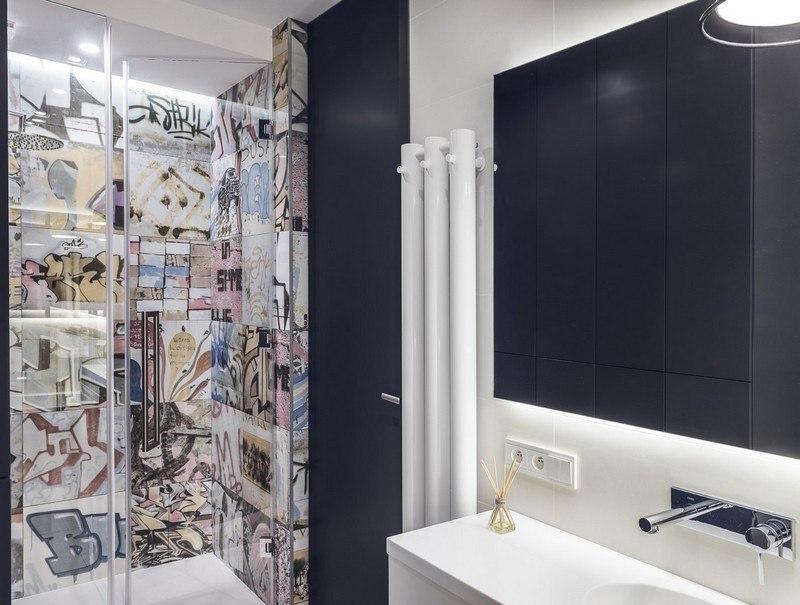 фотоплитка для ванной комнаты попарт фото