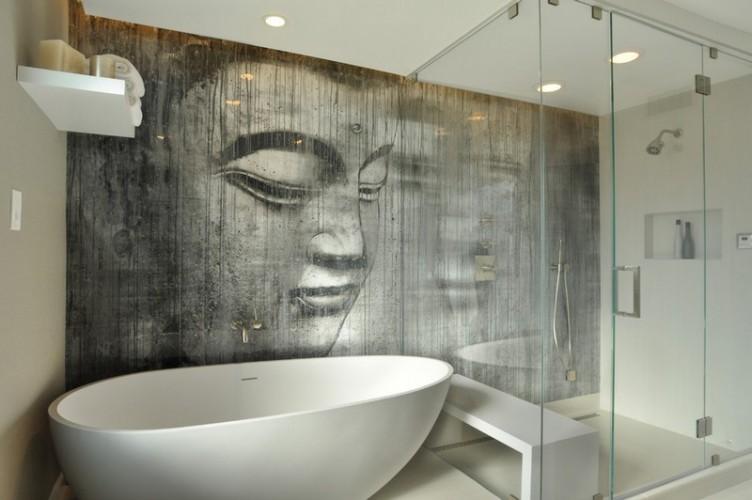 Интерьеры красивых ванных комнат 140